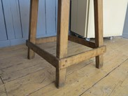 Image 2 - Antique Butchers Block on Original Base
