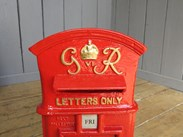 George 6th 'Wagon Top' Post Box
