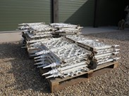 Image 5 - Large Run of Reclaimed Cast Iron Wall Railings