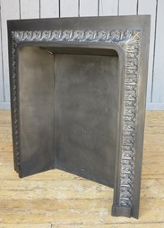 Antique Cast Iron Fire Back