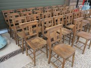 Image 3 - Church Chairs With Book Holders