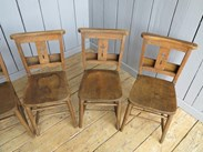Image 5 - Church Chairs With Book Holders