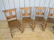 Image 6 - Church Chairs With Book Holders