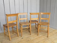 Set of 4 Church Chairs