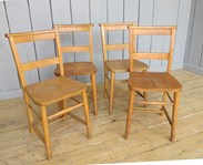 Image 2 - Set of 4 Church Chairs