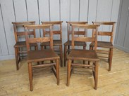 Image 2 - Antique Church Chairs