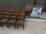 Image 5 - Antique Church Chairs