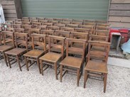 Image 7 - Antique Church Chairs