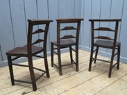 Image 2 - Antique Victorian Church Chairs