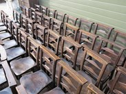 Image 5 - Antique Victorian Church Chairs