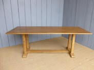 Image 1 - Solid Oak Antique Refectory Dining Table