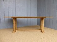Image 2 - Solid Oak Antique Refectory Dining Table
