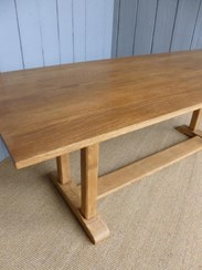 Image 3 - Solid Oak Antique Refectory Dining Table
