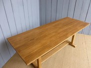 Image 5 - Solid Oak Antique Refectory Dining Table