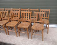 These chairs came from Tanners End Free Church Edmonton London