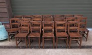 Church Chairs With Book Holders