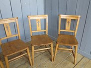Lovely batch of Church Chairs with no Bible Backs
