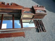 Image 5 - Original Edwardian Solid Mahogany Mirrored Bar Back 4.9m Long