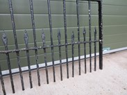 Image 3 - 8 Sections of Victorian Wrought Iron Railings