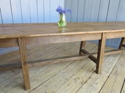 Grand Scale Antique Refectory Dining or Kitchen Table