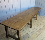 Image 4 - Grand Scale Antique Refectory Table