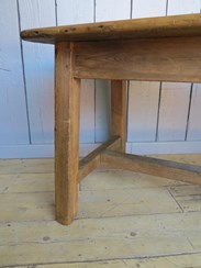 Image 5 - Grand Scale Antique Refectory Table