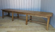 Image 8 - Grand Scale Antique Refectory Table