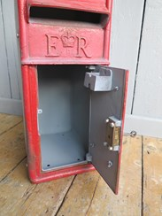 Royal Mail Original Post Office Arch Back Post Box - For Restoration