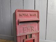 Royal Mail Post Office Arch Back Original Post Box - For Restoration