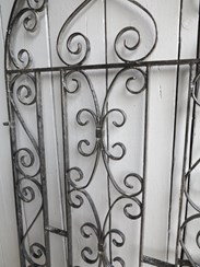 Image 5 - Vintage Wrought Iron Arched Top Pedestrian Gate