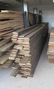 Antique Pine Re Sawn Floorboards