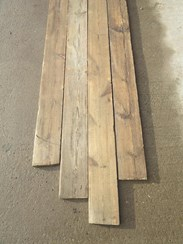 Image 5 - Antique Pine Re Sawn Square Edged Floorboards