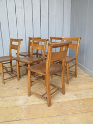 These chairs came from Empingham Parochial Church in Rutland