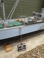 Remote Controlled Liberty Warship
