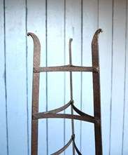 Image 5 - Large Free Standing Wrought Iron Pan Stand - Rack