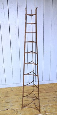Image 7 - Large Free Standing Wrought Iron Pan Stand - Rack