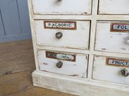 Image 6 - Shabby Chic Apothecary Cabinet With 20 Drawers