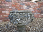 Image 2 - Pair of Stone Vintage Garden Planters