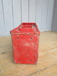 Showing the base of the Royal Mail Post Box Arch Back - For Restoration