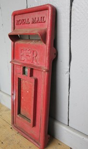 Image 4 - Royal Mail Red Post Office ER Post Box Front