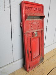 Image 3 - Red Post Office ER Post Box Front