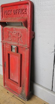 Image 4 - Red Post Office ER Post Box Front
