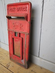 Image 3 - Royal Mail Red Post Office ER Post Box Front