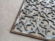 Close up of the Cast Iron Floor Grilles - available to buy at UKAA