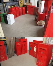 Showing some of our Post Box stock - This is constantly changing