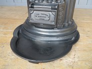 Antique reclaimed tortoise stove complete with ashpan