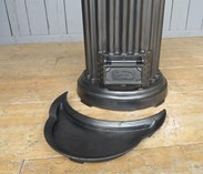 Image 5 - Rare Very Large Antique Tortoise Radiator Stove
