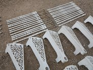 Buy Reclaimed Cast Metal Sprial Staircases from UKAA from our Yard or Online