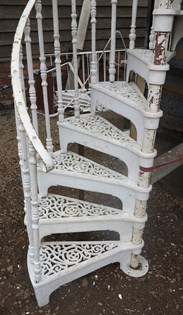 UKAA deliver Spiral Staircases throughout the UK and Overseas