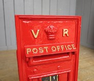 Image 1 - Queen Victoria 'VR' Wall Mounted Post Box